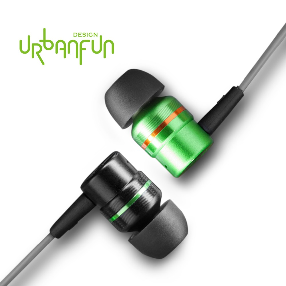 URBANFUN Exclusive Design Hybrid 2-way earphone with Beryllium Diaphragm  with Microphone for  iPhone Android Phone tt tf ths 02b hybrid style black ver convoy asia exclusive