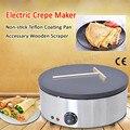 Crêpière électrique commerciale Machine à crêpes Tacos Cachapa fabricant plaque de Crêpe à température contrôlée antiadhésive 220 V/110 V 3kw