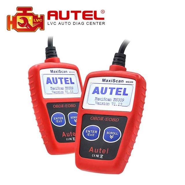 Autel MaxiScan MS309 CAN BUS OBD2 Code Reader OBD2 OBD II Car Diagnostic Tool Autel MS 309 Code Scanner
