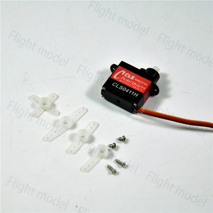 1PCS KINGMAX Digital Gears Micro Cordless Servo High Performance For Micro 3d Helicopter F3A 4.05g