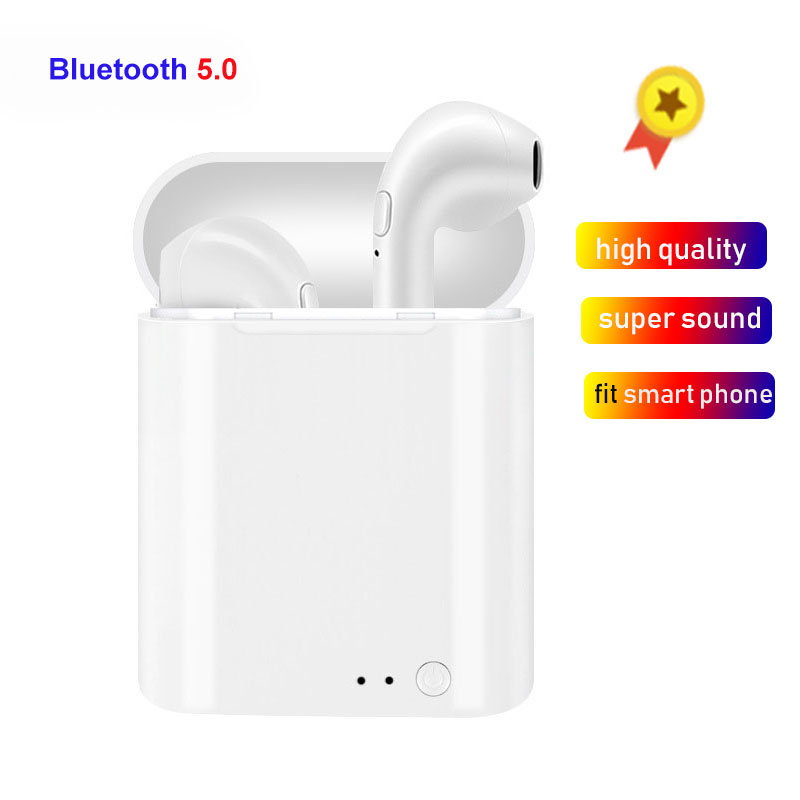 I7S <font><b>TWS</b></font> Earbuds Ture <font><b>Wireless</b></font> <font><b>Bluetooth</b></font> <font><b>5.0</b></font> Double <font><b>Earphones</b></font> Twins <font><b>Earpieces</b></font> pk i10 <font><b>i11</b></font> i14 i13 i60 <font><b>tws</b></font> Stereo Headset For phone image