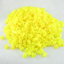 100PCS Plastic Tattoo Ink 12X8X9 Mm Cup Clear Small Classic Tattoo Ink Cups Caps Tatoo Pigment Cup Cap
