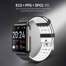 V5 Смарт-часы цветной экран сердечный ритм кровяное давление SPO2 смарт-браслет PPG ЭКГ Водонепроницаемый Bluetooth различный цветной браслет