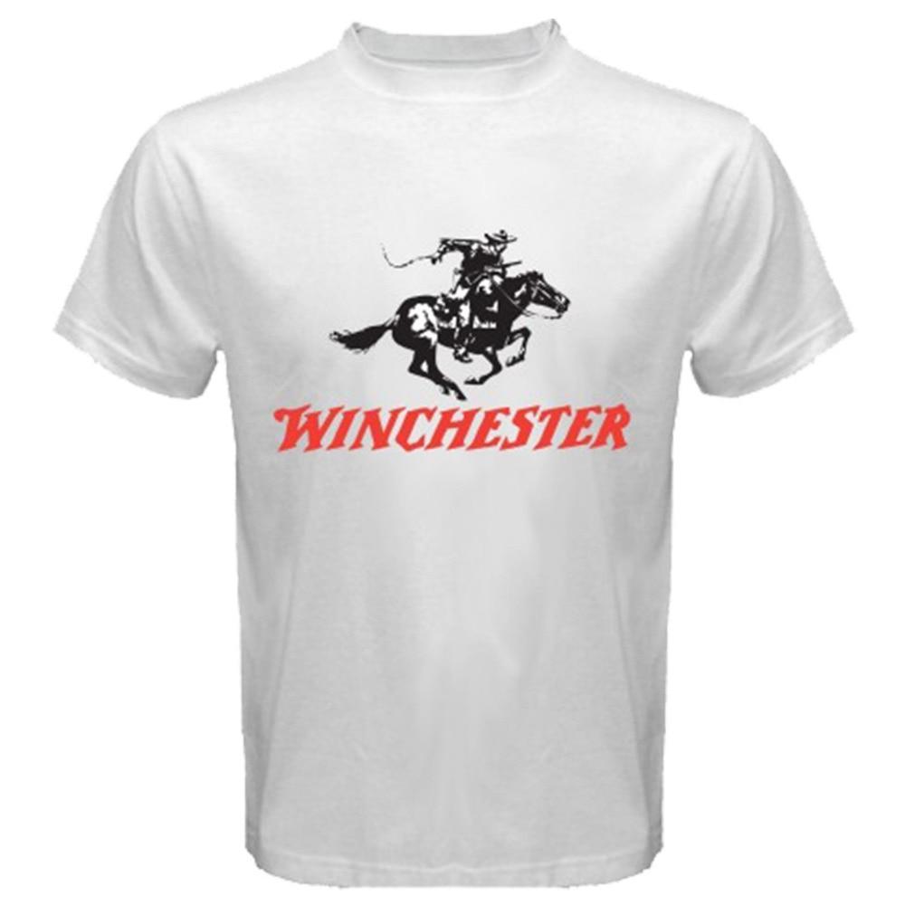Rifle Shotguns Firearm Logo Mens Army T Shirt