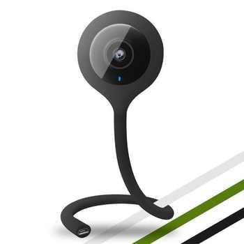 Wireless Nanny Baby Monitor Wifi Camera Night VisionTemperature Monitor Lullaby Babysitter Remote Surveillance Camera