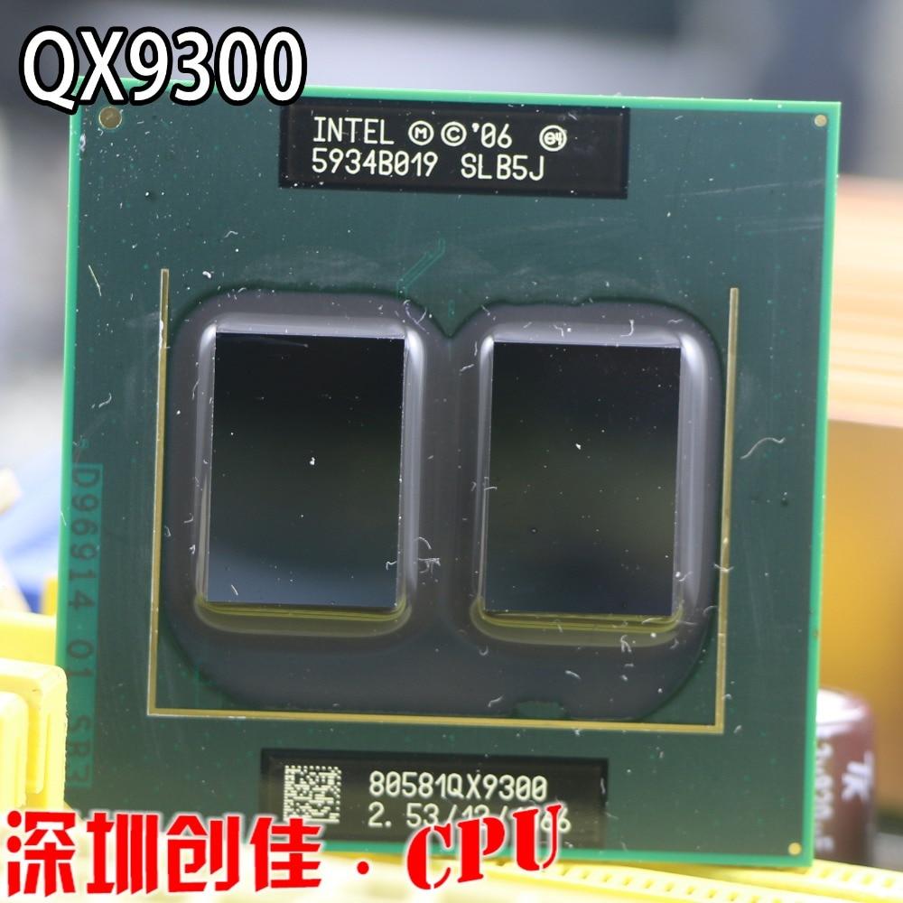 D'origine Intel CPU Processeur QX9300 SLB5J 2.53 GHz 1066 MHz FSB Socket P scrattered pièces Pour PM45 T9600 q9100