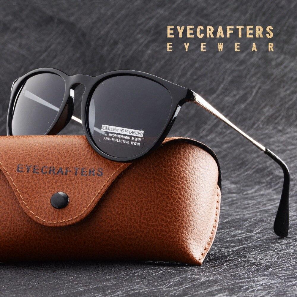 Femelle De Mode Miroir Lunettes 4171 Eyecrafters Marque Designer lunettes de Soleil Polarisées Femmes Rétro Vintage Cat Eye lunettes de Soleil