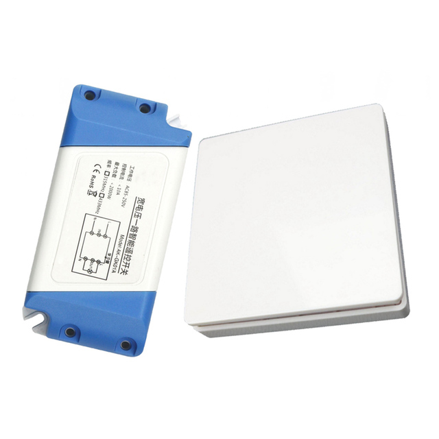 wireless wall light switch kit, remote light switch - no battery no wiring,  relocate switch for lamps fan appliances on/off, s