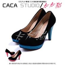 VOCALOID Hatsune Mikuคอสเพลย์รองเท้าบู๊ทส์vocaloid miku vราชินีcosรองเท้า