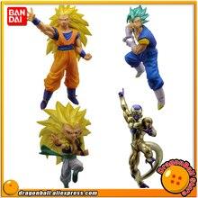 Original BANDAI Gashapon Figure Battle VS 03   Full Set of 4 Pieces Gokou Kakarotto Vegetto Gotenks Freeza