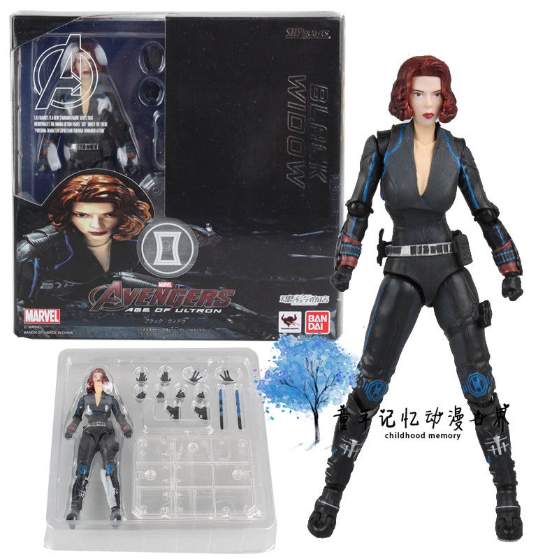 S.H.Figuarts SHF Age Of Ultron Black Widow Marvel Avengers Action Figure KO Toy