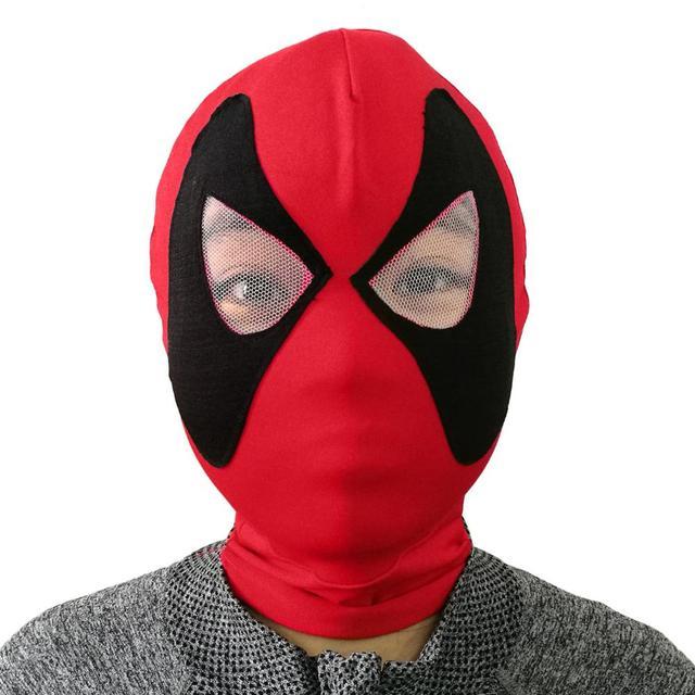 Brinquedos Superhero Movie máscaras Balaclava Halloween Cosplay Props Chapéus Chapelaria Desgaste Do Partido Máscara de Látex Rosto Cheio De Deadpool