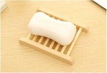 Wholesale Wooden Soap Dishes Bathroom Soap Tray Soap Holder Soapbox 200pcs/lot