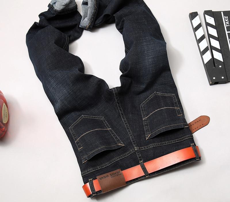 fd2eec0f74 Hombres Jeans Homme hombres clásicos Masculina Esportiva Pantalon ...