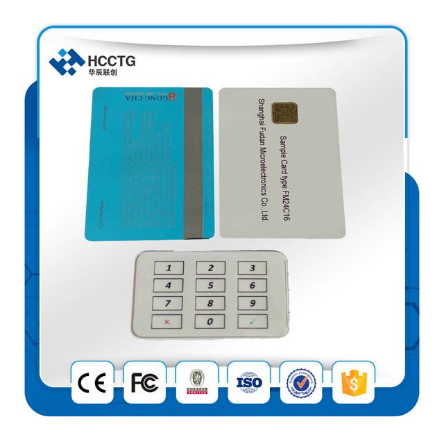 Supporting ISO 7810 ~ 7813 bluetooth smart card reader MP506 with