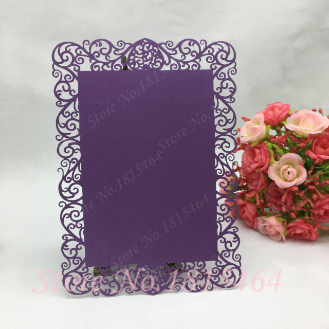 30pcs laser cut menu cardsflower design handmade invitation card 30pcs laser cut menu cardsflower design handmade invitation card customize hotel banquet cafe menu stopboris