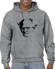 Arthur Schopenhauer Novelist, Author, Writer, Poetry, Book, Philosophy Men 2019 New Cotton Hoodies Print Plain Sweatshirt