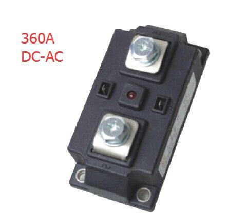 Prix usine 360A ssr relais à semi-conducteurs industriel, dc-ac ssr, relais à semi-conducteurs AC, ssr monophasé