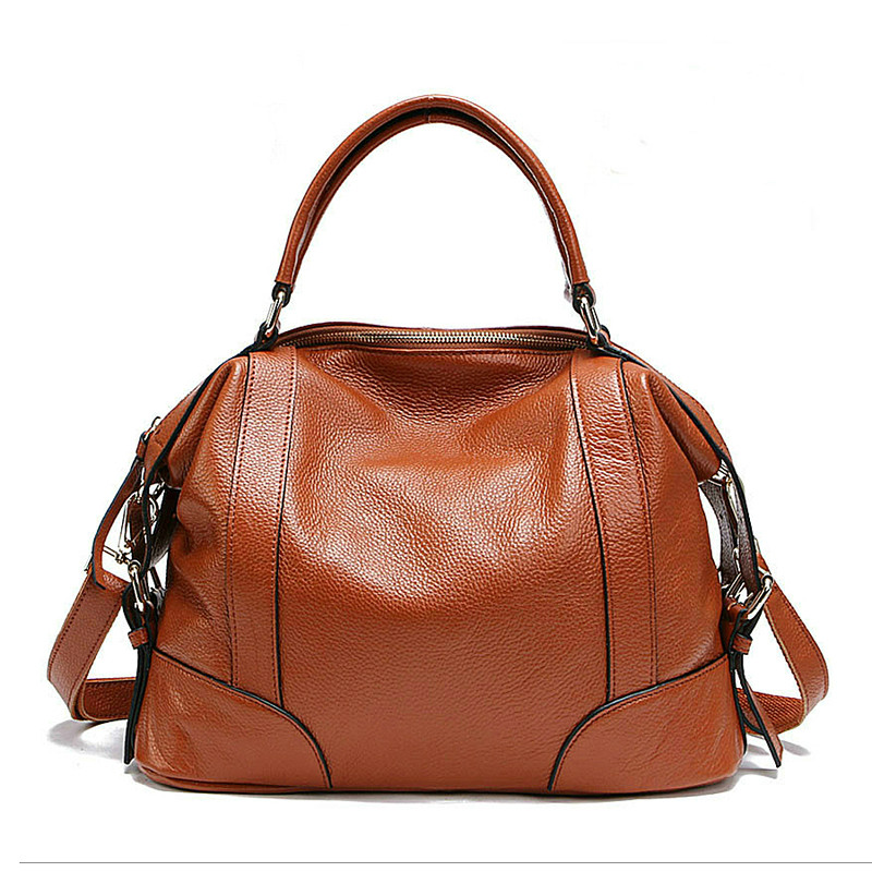 Woman Genuine Leather Bag Vintage Women Handbag First Layer Real Leather Women Messenger Bags Female Shoulder Bag bolsa feminina цена