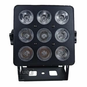 Image 2 - 2Pcs/Pcs/lot Power 6IN1 LED PAR Light RGBWA UV ไฟ LED DMX WASH Effect DJ DISCO Light สำหรับ party Club Bar งานแต่งงานแสง
