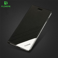 FLOVEME Business Leather Flip Case For IPhone 6 6s Plus 7 7 Plus 5 5s SE