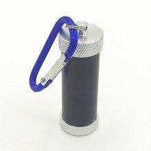 Алюминиевый хранение банка водонепроницаемый металлический герметичный Травяной/табак запах Прочный Контейнер для хранения Stash Can