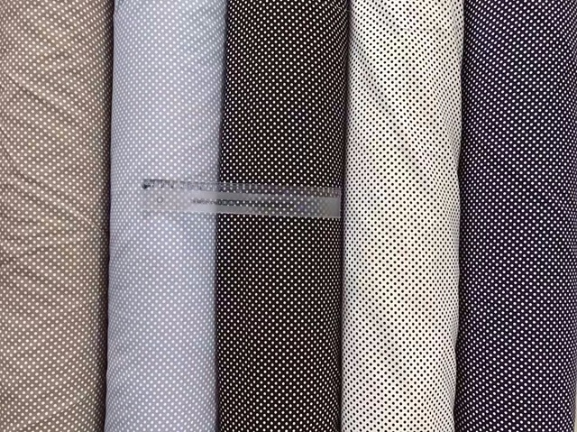 150 cm breite Vier seiten elastische stoff 3mm punkte muster können ...