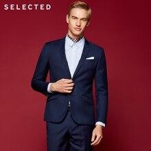 SELECTED Мужские деловые костюмы Slim Fit Blazers T