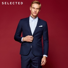 SELECTED Men's Slim Fit Business Suits Blazers T 41815X501