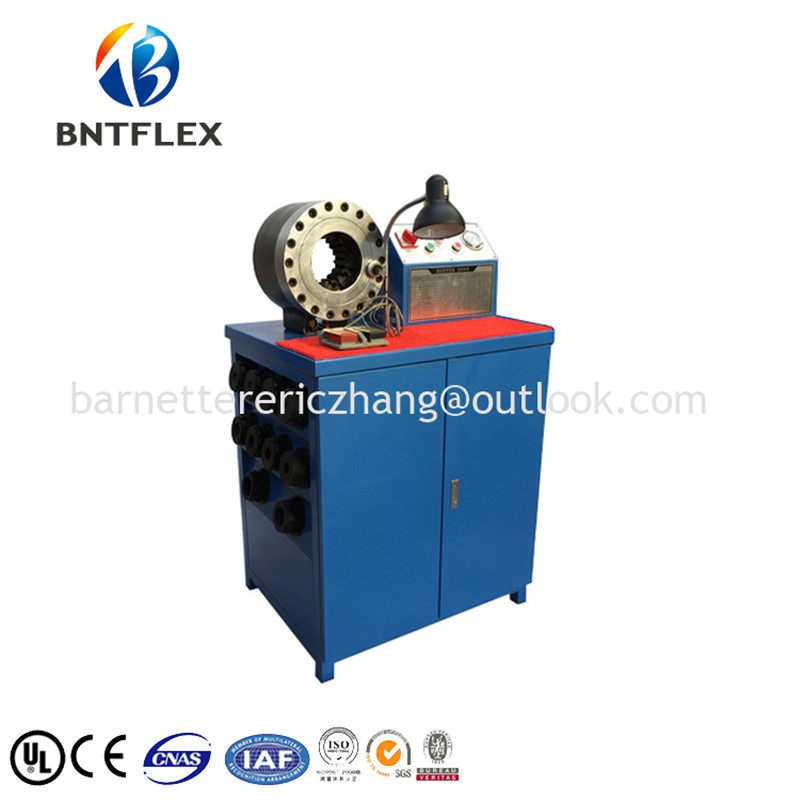BNTFLEX marca Menor preço da corda de fio de aço máquina de friso - 3