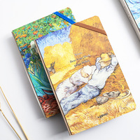 Van Gogh Planner Notebook Cute Monthly Weekly Planner Creative Notebook Personal Diary Journal Organizer Planner New Year Gift