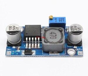 Image 3 - 100 stücke DC DC Step Down Converter Modul LM2596 DC 4,0 ~ 40 bis 1,3 37 V Einstellbare Spannung Regler
