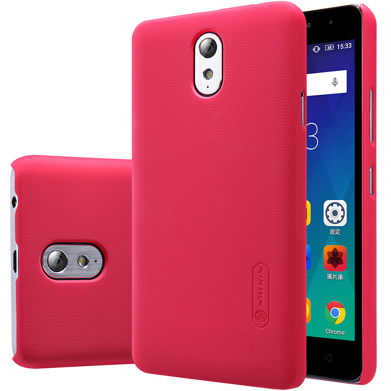 new concept 21d62 281f7 US $10.79 |2017 Phone Case for Lenovo Vibe P1m P1ma40 (5.0 inch) Original  NILLKIN Frosted Shield Hard Back Cover + Free Gift Glass Film on ...