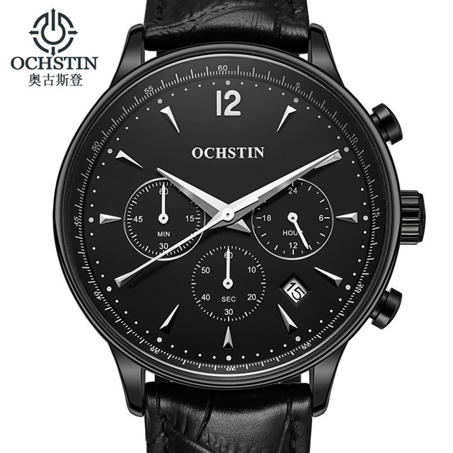 relogio masculino OCHSTIN Fashion Business Men Luxury Brand Quartz Watch Mens Sport Watches Chronograph Wristwatch Dress