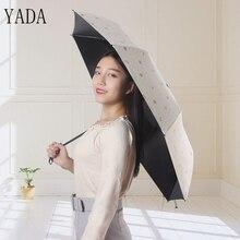 hot deal buy yada bronzing anchor charms designer umbrellas rain women uv high quality umbrella for womens windproof folding umbrellas ys199