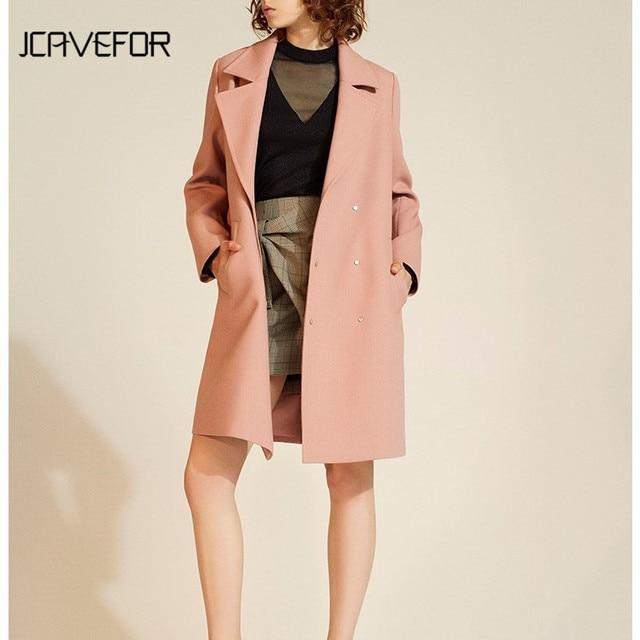 outlet store 28537 b128d US $55.0 |Wintermantel Frauen Warme Baumwolle gefütterte Wollmantel  Zweireiher Damen Rosa Mantel Jacke Ritter Vintage Mantel Jacke Outwear in  ...