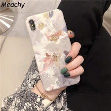 Retro Paint Flower Phone Case For Huawei P20 P30 Pro Lite Mate 20 Pro P