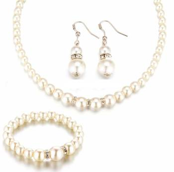 Women's Romantic Pearl Jewelry Set Jewelry Jewelry Sets Women Jewelry