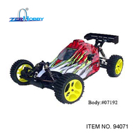 HSP RACING FACLE NO. 5 RC CAR TOYS 1/5 GAS POWERED REMOTE CONTROL BUGGY 30CC ENGINE HIGH SPEED (ITEM NO. 94071)