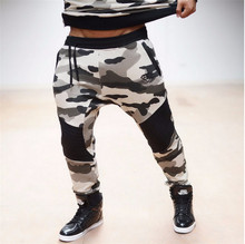 2016 Brand BE Men's Camouflage Joggers Military  Pants Trousers pantalon homme body engineers Sweat Pants For Men