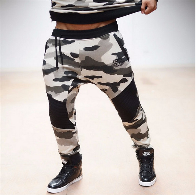 2016 Brand Men s Camouflage Joggers Military Pants Trousers pantalon homme Sweat Pants For Men
