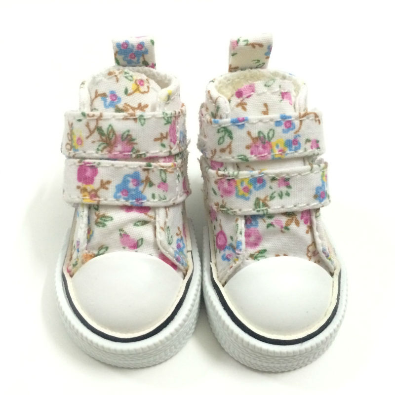 Causal Canvas Shoes 1/3 BJD Doll Shoes for Paola Reina Dolls Accessories,6CM Mini Sneakers Footwear Sports Shoes 2Pair/Lot uncle 1 3 1 4 1 6 doll accessories for bjd sd bjd eyelashes for doll 1 pair tx 03