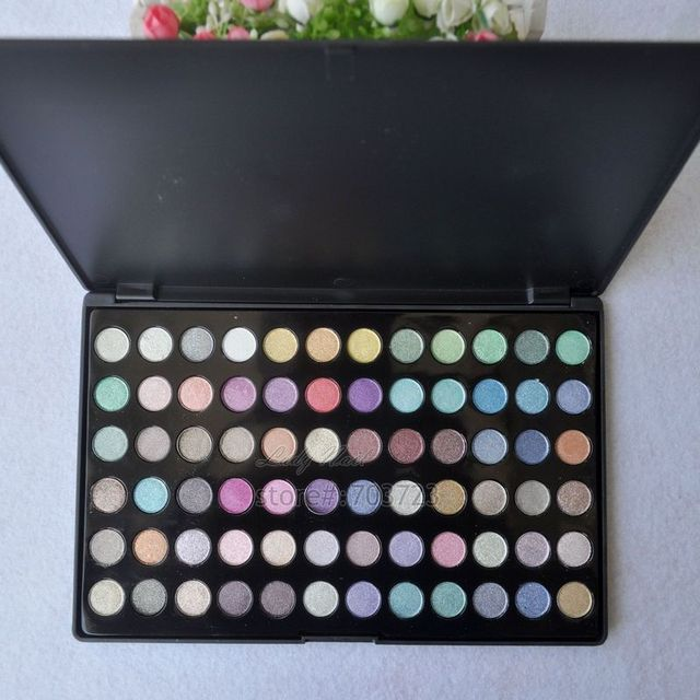 Pro 72 Diamante cor ultra brilho Brilho maquiagem paleta sombra cosméticos Define 72GG