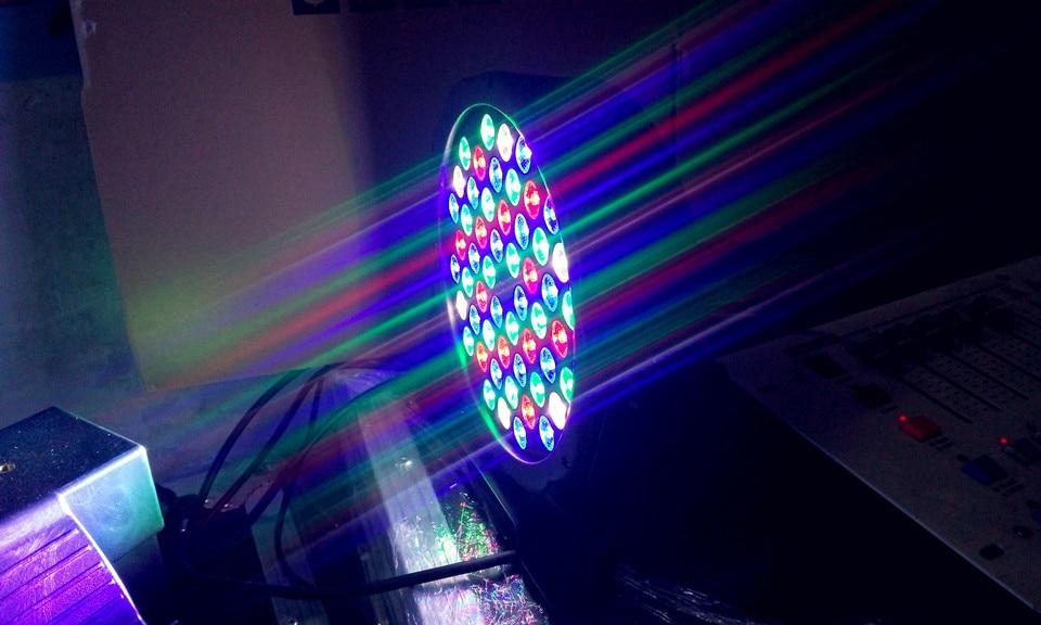 54X3w RGBW LED Light Par for Theater LED Professional Light wedding dj light