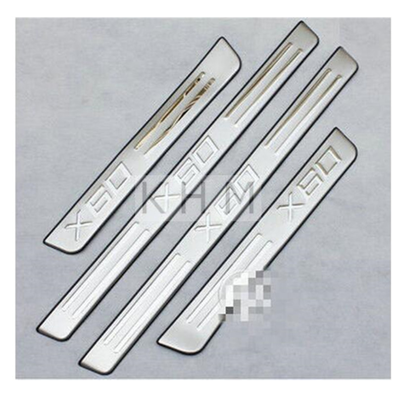 for Lifan x60 2012 2013 welcome pedal lifan x60 door sill strip Car Accessories  car styling шаровый наконечник lifan 320