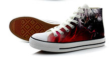 Tokyo Ghoul Cosplay Canvas Shoes
