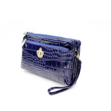 Women's Fashion Crossbody Shoulder Bag – Double Zipper Crown Messenger Handbag