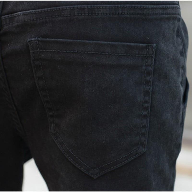 United กางเกงยีนส์หลวมกางเกงยีนส์สีดำผู้หญิงขนาด Harem Xxl 12