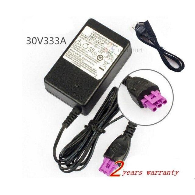 חדש לגמרי 30 v 333mA מדפסת AC אספקת חשמל מתאם עבור HP Deskjet 0957-2286 1050 1000 2050 2000 2060 מדפסת עם AC כבל