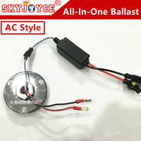 2X Ballast Only 35W 12V Round New Design Mini Hid Ballast AC Quality Xenon Hid Replacement